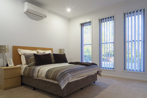 Call our Brisbane Electrician to install air conditioning into your bedroom today!
