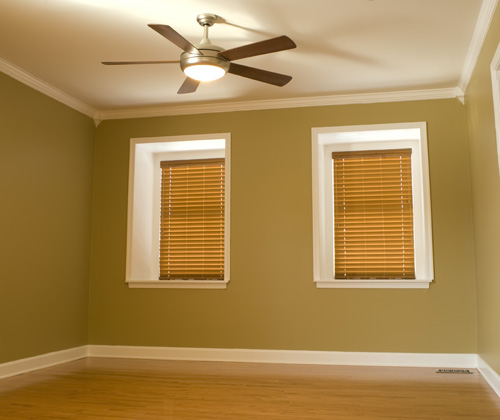 Bedroom Combination Ceiling Fan and Lighting Solution - Brisbane Electrical