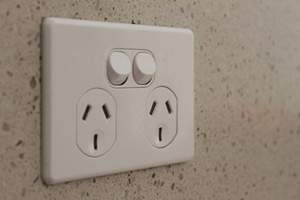 Comfort solutions, power point on kitchen bench top, Brisbane Electrician